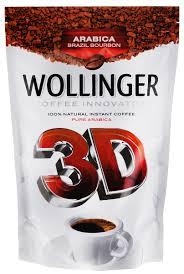 <b>Wollinger 3D кофе растворимый</b>, 150 г — купить в интернет ...