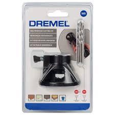 <b>Набор</b> оснастки <b>Dremel</b> 565, <b>резка</b> отверстий, 4 предмета в ...
