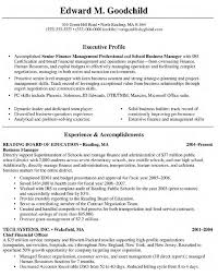business owner resume sample company resume example