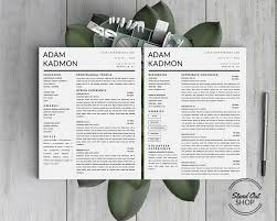 professional modern resume designs adam kadmon resume template