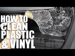 How to Clean Your Car Interior Plastics & Vinyls - YouTube