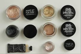 makeup kit must haves cream eyeshadows for a bridal kit