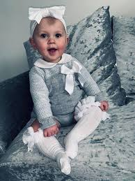 <b>Knitted Baby</b> Clothes - Girls <b>Outfits</b> and <b>Dresses</b> – Lullaby Lane ...