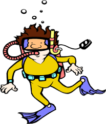 Image result for deep sea diver clipart