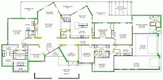 House Plans For Narrow Lots   Cottage house plans    luxury house plans   walkout basement
