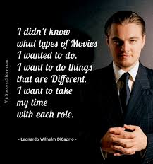 Leonardo DiCaprio Quotes. QuotesGram