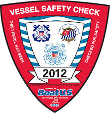 2012 Vessel Safety Check Decal