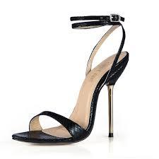<b>CHMILE CHAU</b> Summer Snakeskin <b>Sexy</b> Party Women Shoes ...