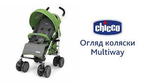 Прогулочная <b>коляска Multiway</b> - YouTube
