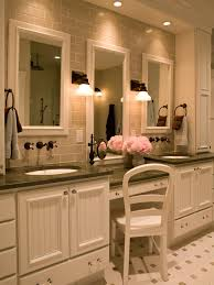 dual vanity bathroom: double vanity bathroom ideas makeup vanity dressing table bathroom ideas designs hgtv in double vanity bathroom ideas