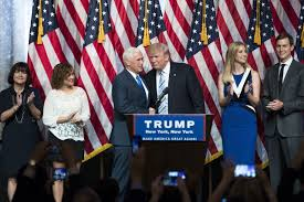Image result for donald trump and michael pence