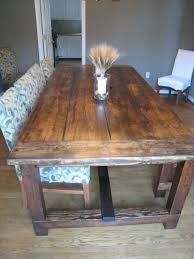 Dining Room Tables Plans Convert An Old Farmhouse Dining Table Into A New Modern Home