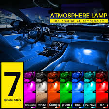 12 <b>LED Car</b> Interior Floor <b>foot</b> Lamp <b>AUTO</b> Decoration Light With ...