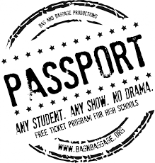 passport ticket program bag baggage productions passport ticket program