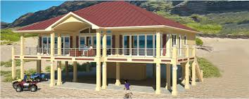 Clearview P   sq ft on piers   Beach House Plans by Beach    Clearview P   sq ft on piers   Beach House Plans by Beach Cat Homes