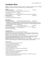 objective for internship resume in finance equations solver cover letter resume and objective summary