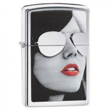 <b>Зажигалка Zippo</b> Classic, <b>High</b> Polish Chrome, Gold Design ...