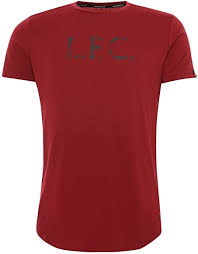 <b>Liverpool FC</b> Adults NB <b>Street</b> Training Maroon Stacked <b>T</b>-<b>Shirt LFC</b> ...
