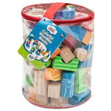 Кубики <b>Little hero</b> Colorful Woodlike Blocks (3094) — купить по ...