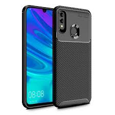 p smart 2019 case deer leather cloth cover for huawei p20 lite p30 pro soft matte plexiglass shell for p10 p9