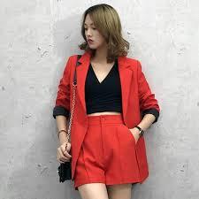 <b>Suit suit</b> new <b>Korean</b> commuter <b>small suit jacket</b> loose casual shorts ...