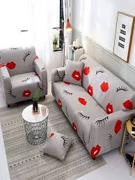 Buy Slipcover <b>Simple</b> Sofa Cover <b>Personality</b> Print All-inclusive ...