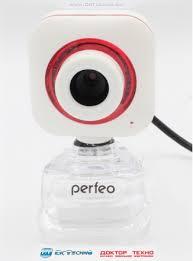 Веб-камера PF-5033 встроенный микрофон <b>USB 2.0</b> White
