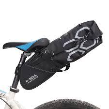 B SOUL <b>Waterproof Bicycle</b> Saddle Bag <b>12L</b> Big Capacity <b>Bike</b> ...