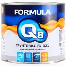<b>Грунтовка</b> Formula Q8 <b>ГФ</b>-<b>021</b>, <b>красно</b>-коричневая, 1,9 кг - купить в ...