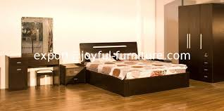 glass bedroom furniture rectangle shape wooden cabinets: cheap price home bedroom setmdf bed and with