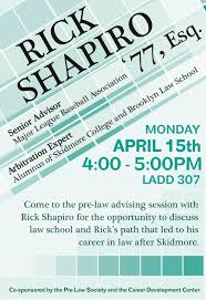 skidmore pre law society for students interested in pursuing a prelawevent 15poster