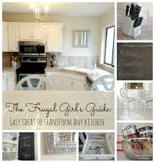 kitchen update ideas easy updates