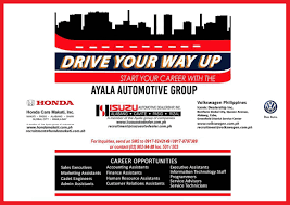 i cares news archive drive your way up start your career the ayala automotive group career opportunities s executives