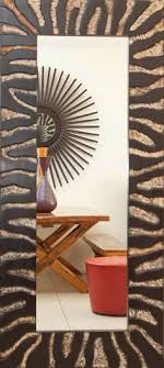 reflection from zebra mirror phasesafricacom african furniture and decor