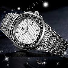 Luxury <b>Men</b> Gold <b>Watch 2019</b> New Fashion Clock Steel Belt Design ...
