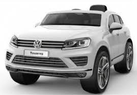 Детский <b>электромобиль Jiajia Volkswagen Touareg</b> White ...