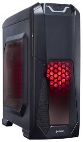 Компьютерный <b>корпус ExeGate EVO-8201</b> w/o PSU Black