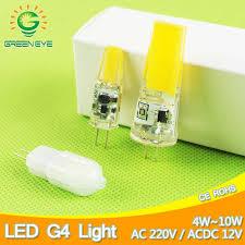 dimmable g4 led bulb 3w ampoule g9 light 220v corn lamp 5w bombillas 240v spotlight halogen led 2835smd