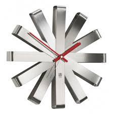 Купить <b>Часы настенные Ribbon</b> сталь 118070-590 за 4900 руб ...