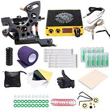 DragonHawk Starter <b>Tattoo Kit</b> 1 <b>Pro</b> Tattoo <b>Machines</b> Tattoo Gun ...