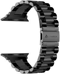 <b>Lyambda Ремешок</b> из нержавеющей стали Keid для Apple Watch ...