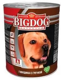 <b>Консервы Зоогурман Big</b> Dog Говядина с гречкой для собак ...
