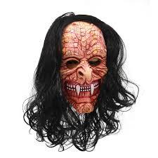 molezu Gruesome Ghost <b>Ghoul Mask</b> with Wigs, Halloween ...