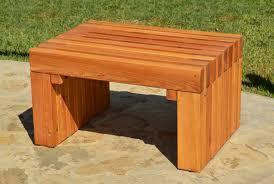 patio bench options