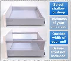 soft close drawers box: image is loading replacement kitchen drawers soft close drawer box kit