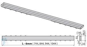 <b>Решетка Alcaplast TILE</b>-750 L=750мм, под кладку плитки ...