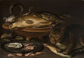 Still <b>Life</b> of Fish and <b>Cat</b> - Clara Peeters — Google Arts & Culture