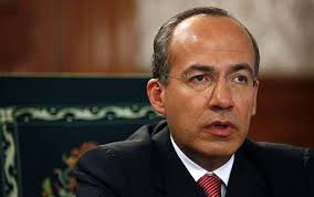 Felipe Calderón denies Mexico is a failed state. Mr Calderón said the US government should do more to fight corruption north of the border. Photo: AP - felipe-calderon_1356284c