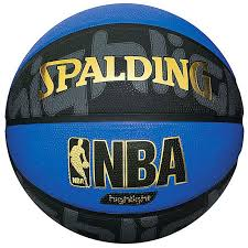 <b>Мяч</b> баскетбольный <b>SPALDING NBA</b> Highlight Black
