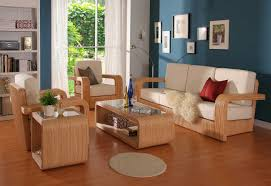 white living room furniture decoration natural